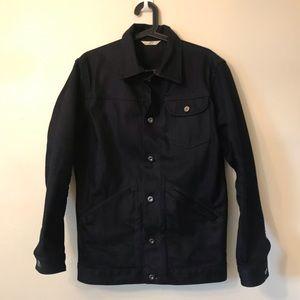 3sixteen shadow selvedge ranch denim jacket.